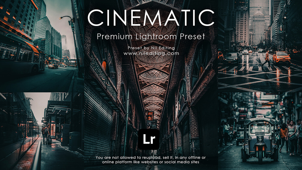 Free lightroom Cinematic Presets