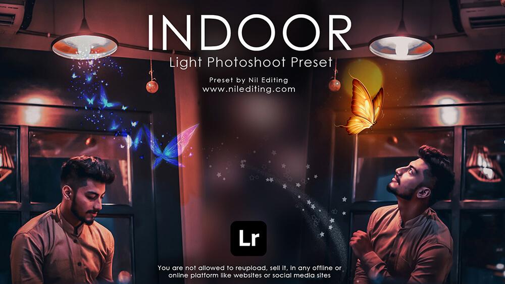Indoor Photoshoot preset by nil editing