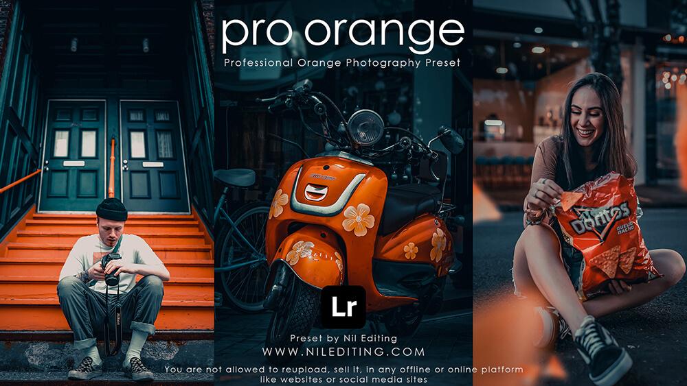 Pro Orange Preset