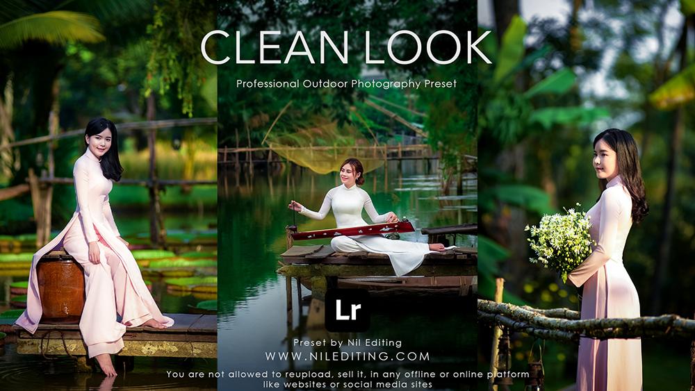 Professional Outdoor Preset-Clean Look